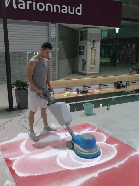Havířov, strojové čištění koberců