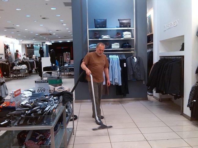 Impregance, strojové čištění podlah v Praze