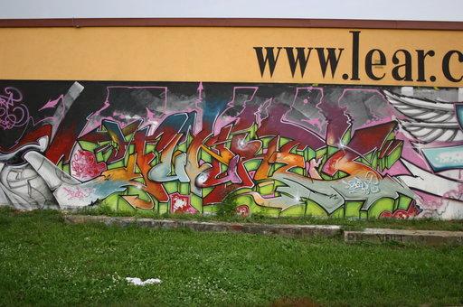 Odstraňování graffiti, anti-graffiti nátěry Praha